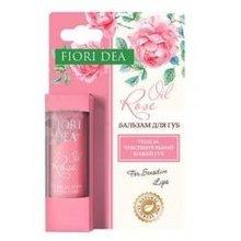 Бальзам для губ FIORI DEA (фьери дея) масло розы восстанавливающий 4,5г