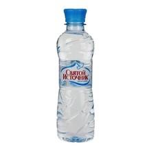 Вода питьевая СВЯТОЙ ИСТОЧНИК 0,33 л пэт (н/газ.)