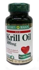 Нэйчес Баунти (Natures Bounty) масло криля капсулы 500 мг, 30 шт.