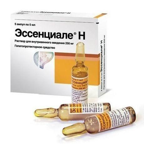Эссенциале Н ампулы 250 мг , 5 мл , 5 шт.
