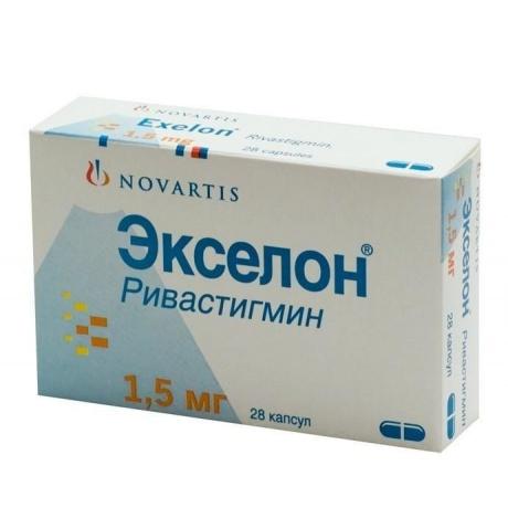 Экселон капсулы 1,5 мг, 28 шт. цена в Белгороде 2 р. купить дешево. Инструкция по применению, аналоги, отзывы
