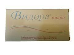 Видора микротаблетки 3 мг + 0,02 мг, 28 шт.