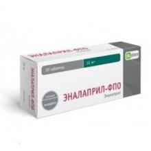 Эналаприл-ФПО таблетки 10 мг, 20 шт.