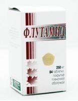 Флутамид таблетки 250 мг, 84 шт.