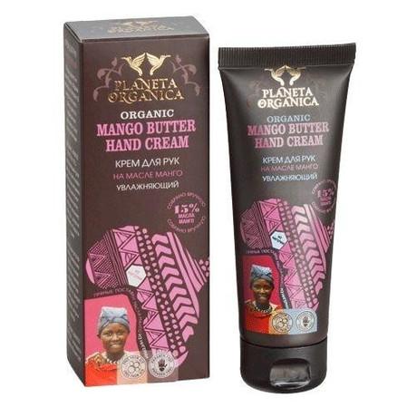 Planeta Organica крем для рук увлажняющий Манго butter, 75 мл