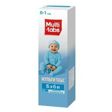 Мульти-табс Бэби флакон (капли оральные),  30 мл