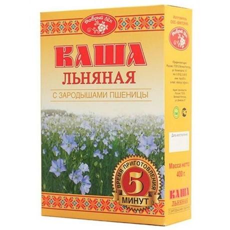 Каша ЛЬНЯНАЯ с зародышами пшеницы 410 г