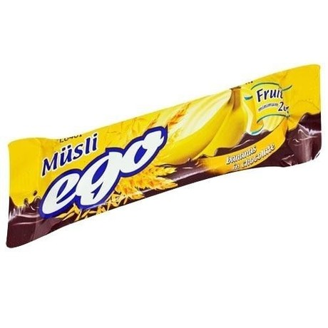 Батончики мюсли EGO банан в шоколаде 25 г
