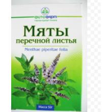 Мяты перечной лист, 50 г