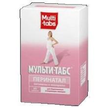 Мульти-табс Перинатал таблетки, 60 шт.