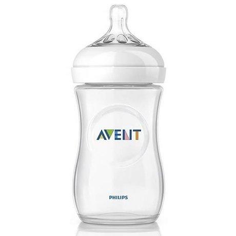 Бутылочка детская AVENT Natural стекло 240мл (арт. 81420 SCF673/17)