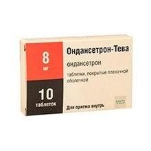 Ондансетрон-Тева таблетки 8 мг, 10 шт.
