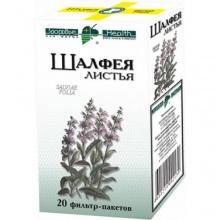 Шалфея листья пакетики-фильтры 1,5 г, 20 шт.