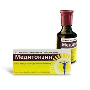 Медитонзин флакон, 35 г