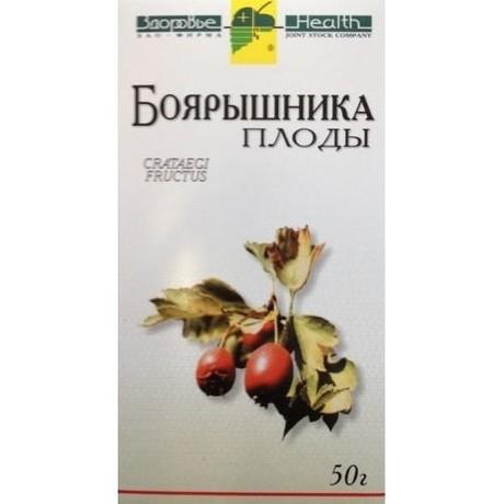 Боярышника плоды пачка 50г