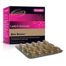 Фарма-Мед Ледис формула Для волос таблетки, 30 шт.