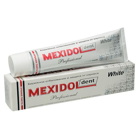 Зубная паста MEXIDOL DENT Professional White, 100 г