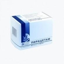 Пирацетам капсулы 400 мг, 60 шт.