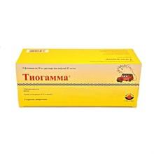 Тиогамма р-р для инфузий 12 мл/мл флакон 50 мл, 1 шт.