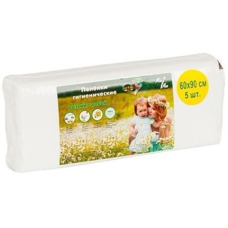 Пеленка MINIMAX впитывающая детские 60 х 90, 5 шт.
