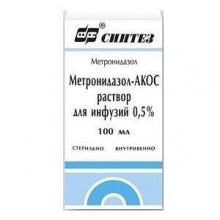 Метронидазол-АКОС раствор 5мг/мл, 100 мл