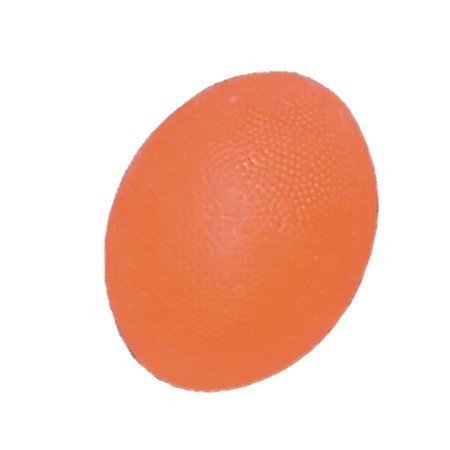Мяч для тренировки кисти яйцевидной формы оранжевый (арт. L 0300 S)