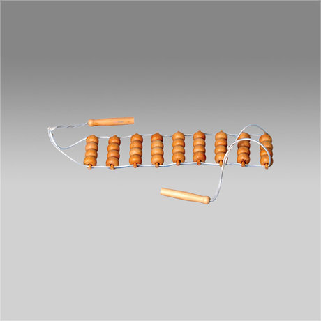 Массажер ER 1005 для релаксации лента с шариками широкая