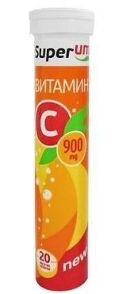 Витамин C таблетки  900 мг, 20 шт.
