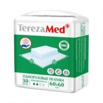 Пеленка ТЕРЕЗА МЕД Нормал одноразовая 60х60см, 30 шт.