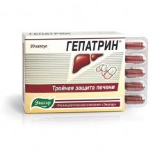 Гепатрин капсулы, 30 шт.