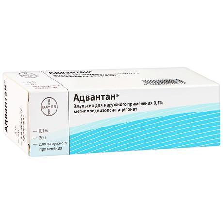 Адвантан эмульсия для наружного применения 0,1%, 20 г