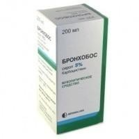 Бронхобос сироп 5%, 200 мл