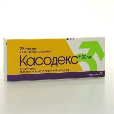 Касодекс таблетки 50 мг, 28 шт.