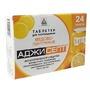 Аджисепт таблетки для рассасывания с медом и лимоном, 24 шт.