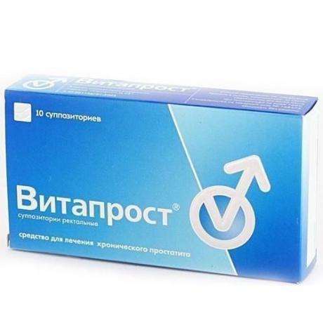 Витапрост свечи ректальные 50 мг, 10 шт.