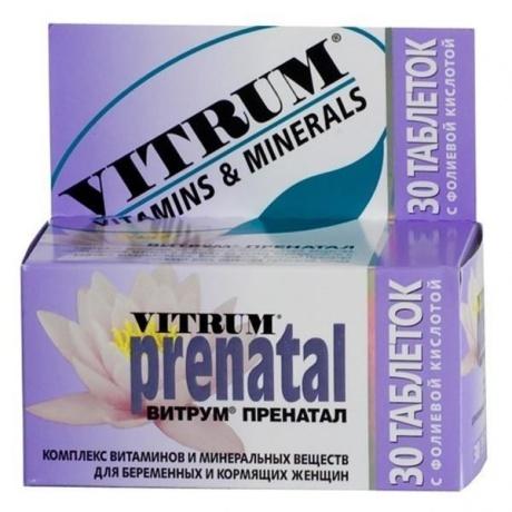 Витрум Пренатал таблетки, 30 шт.