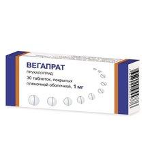 Вегапрат (Прукалоприд) таблетки 1мг, 30 шт.