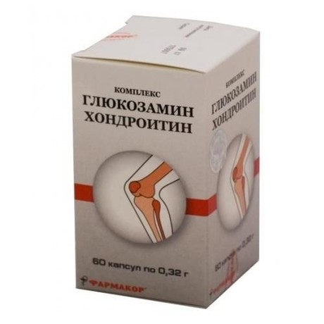 Глюкозамин-хондроитиновый комплекс капсулы 320 мг, 60 шт.