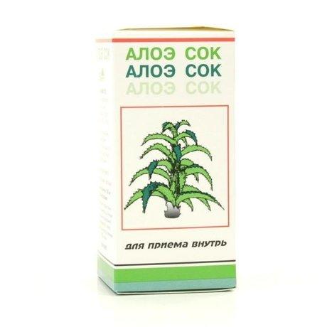 Алоэ сок флакон (жидкость) 50 г