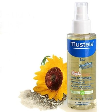 MUSTELA Bebe масло детское для массажа, 110 мл
