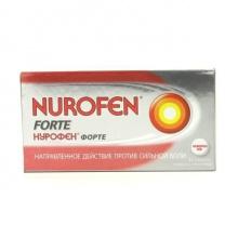 Нурофен форте таблетки 400 мг, 12 шт.