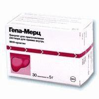 Гепа-Мерц пакетики (гранулы для приготовления раствора для приема внутрь) 3г/5г, 30 шт.