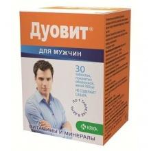 Дуовит для мужчин таблетки, 30 шт.