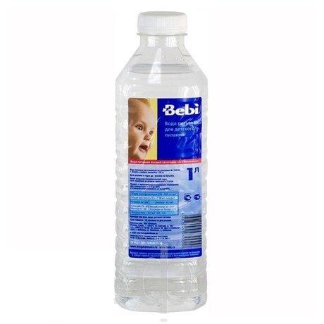 Вода питьевая БЕБИ (с 1-й недели), 1л