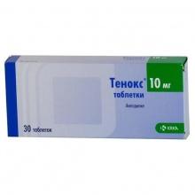 Тенокс таблетки 10 мг, 30 шт.