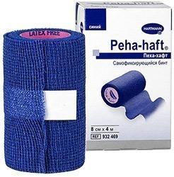 Бинт PEHA-HAFT самофиксирующийся  4м х 8см