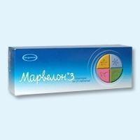 Марвелон таблетки, 63шт