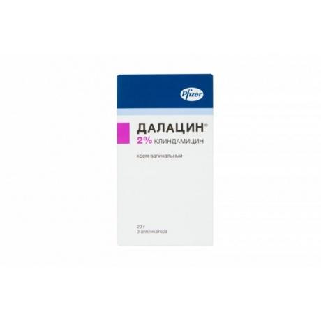 Далацин крем вагинальный 2%, 20 г + аппликатор