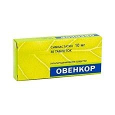 Овенкор таблетки 10 мг, 30 шт.