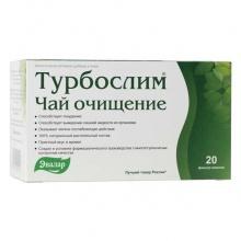 Турбослим Чай Очищение фильтрпакетики 2 г, 20 шт.
